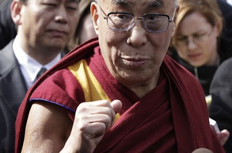 Dalai Lama Leaves White House Through Back Door