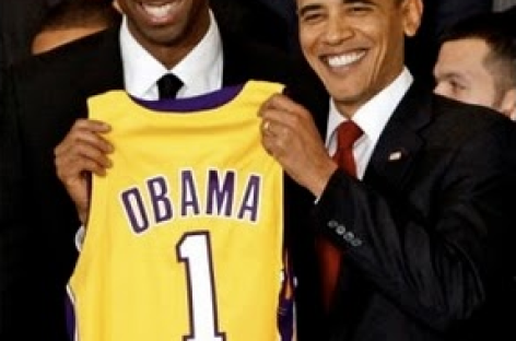 Obama Predicts Lakers To Win