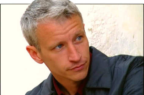 Anderson Cooper in a Bunny Suit