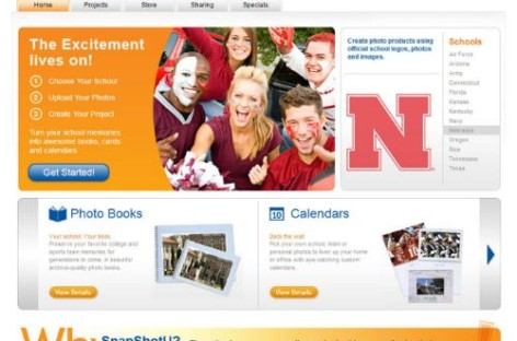 SnapShotU! Photo Product Website Targets Collegiate Sports Fan
