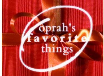Oprah's Favorite Things – One Last Time