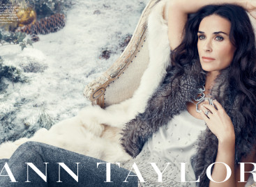Demi Moore: Ann Taylor's New Face of Holiday Campaign