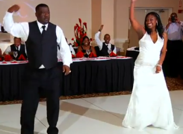 The Coolest Father and Daughter Wedding Dance