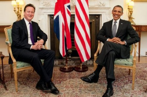 Obama, Cameron to watch March Madness begin