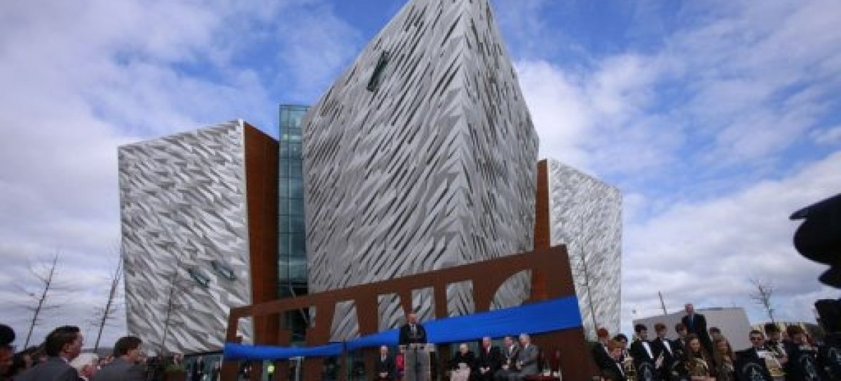 World's biggest Titanic attraction opens in Belfast