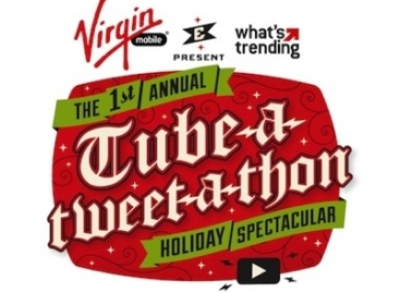 What's Trending and Virgin Mobile Present The Tube-A-Tweet-A-Thon Holiday Spectacular