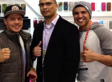 Interview with former WBC Welterweight Champion Victor Ortiz and undefeated Super Featherweight Champion Diego Magdaleno
