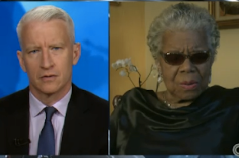Anderson Cooper Interviews Dr. Maya Angelou – #MOW50