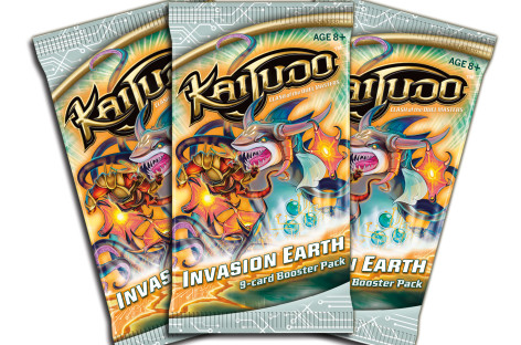 """New Kaijudo set released today – """"Invasion Earth"""""""