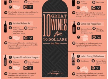Fine Wines on a Budget [Infographic]