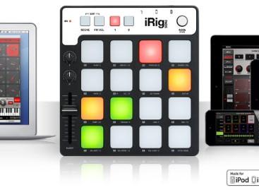 IK Multimedia announces iRig Pads