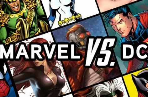 Comic Costume Battle – Marvel or DC?