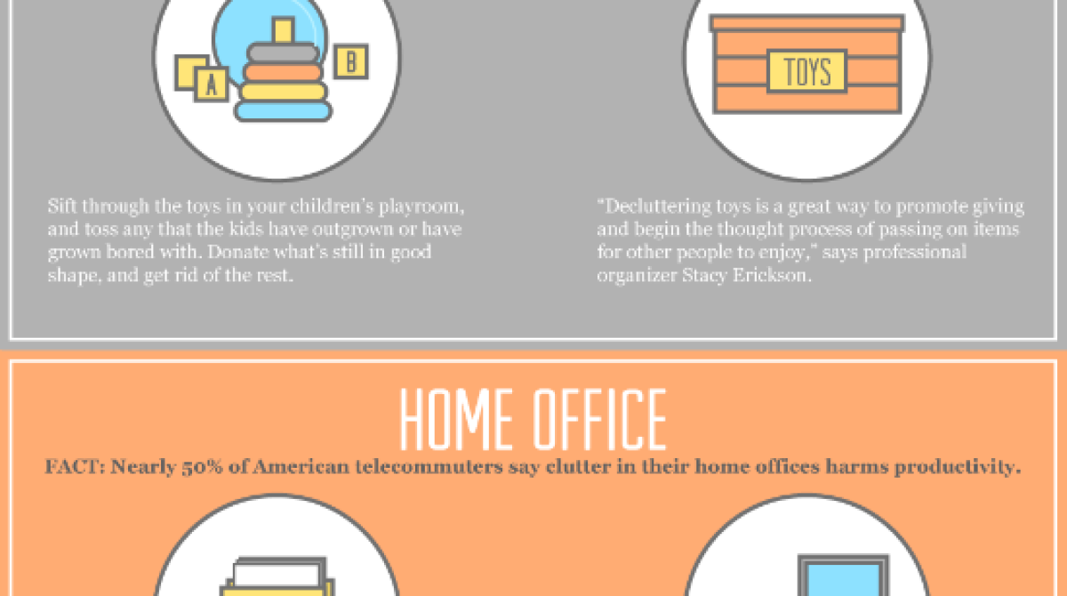 Declutter First, Spring Clean Later [Infographic]