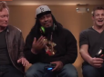 "Marshawn Lynch and Rob Gronkowski Play ""Mortal Kombat X"" With Conan O'Brien"